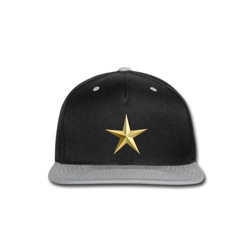 Star - Snap-back Baseball Cap