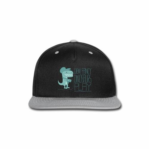 Dem Fancy Games transparent - Snap-back Baseball Cap