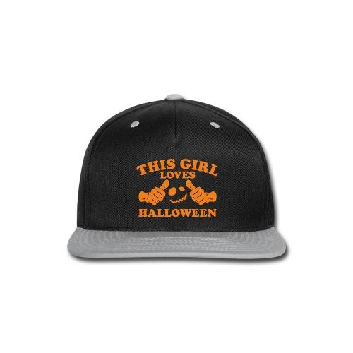 This Girl Loves Halloween - Snap-back Baseball Cap