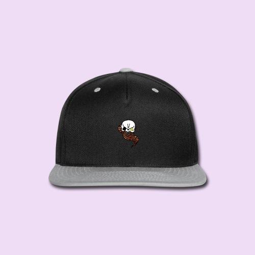Skull & Snake - Snap-back Baseball Cap