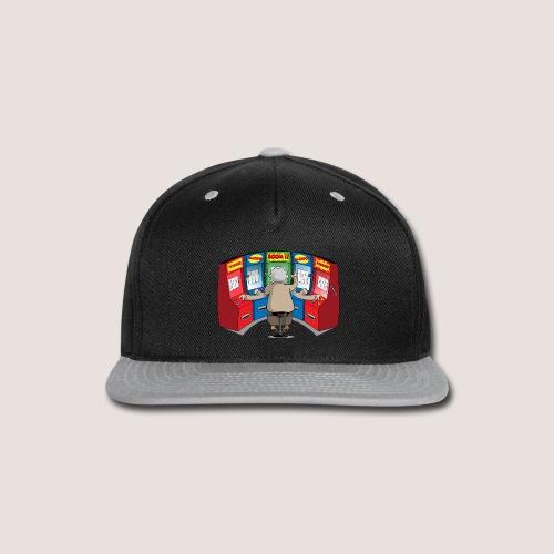 THE GAMBLIN' GRANNY - Snap-back Baseball Cap