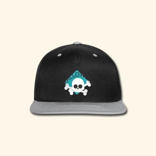 Halloween Skull2 - Snap-back Baseball Cap