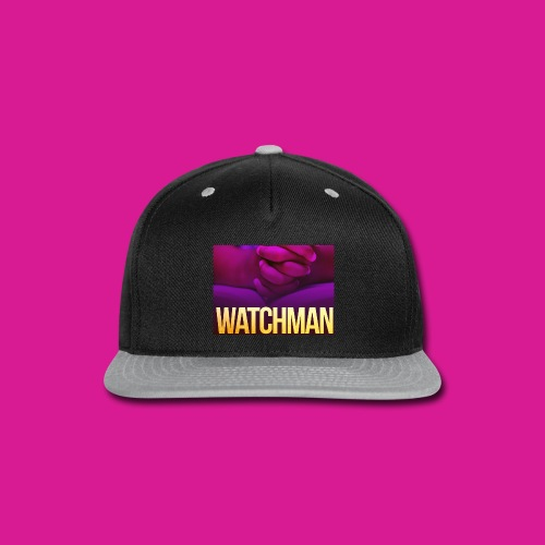 Watchman design - Snap-back Baseball Cap