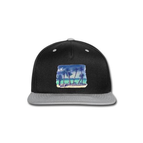 Oasis beach - Snap-back Baseball Cap