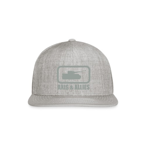 Tank Logo with Axis & Allies text - Multi-color - Snap-back Baseball Cap