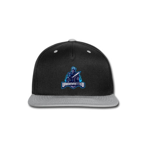 Unkommitted Text Logo - Snap-back Baseball Cap