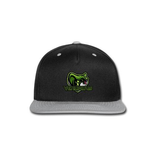 Venomous Text Logo - Snap-back Baseball Cap