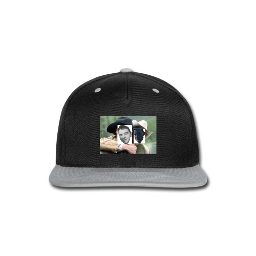 Darien and Curtis Camping Buddies - Snap-back Baseball Cap