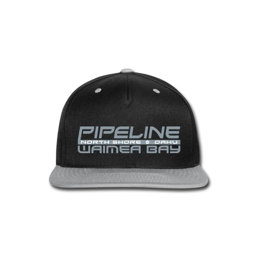 Pipeline Waimea Bay - North Shore, Oahu, Hawaii - Snap-back Baseball Cap