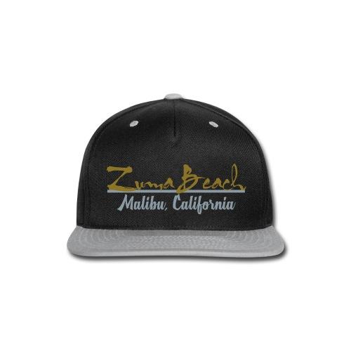 Zuma Beach - Malibu, California - Snap-back Baseball Cap