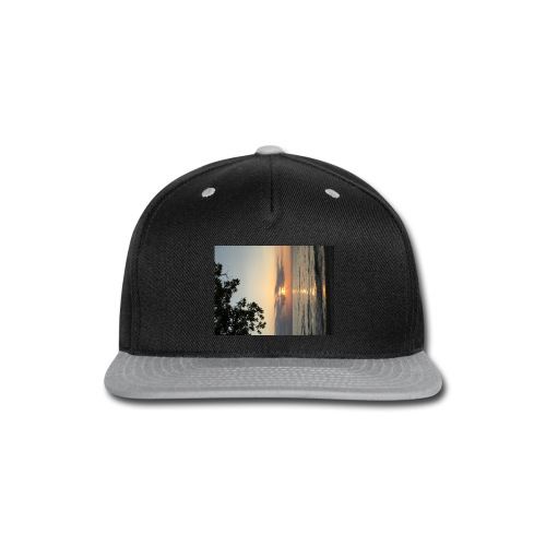 Beach Sunset - Snap-back Baseball Cap
