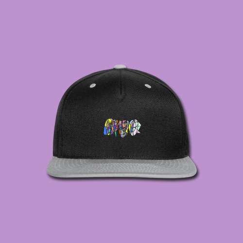Scribble - Snap-back Baseball Cap