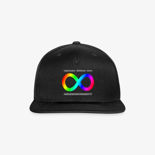 Embrace Neurodiversity - Snap-back Baseball Cap