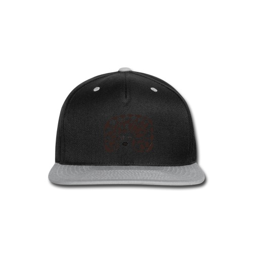 Black and White - Snap-back Baseball Cap