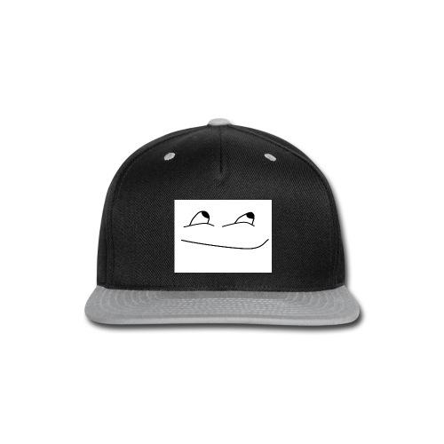 Stupid face - Snap-back Baseball Cap