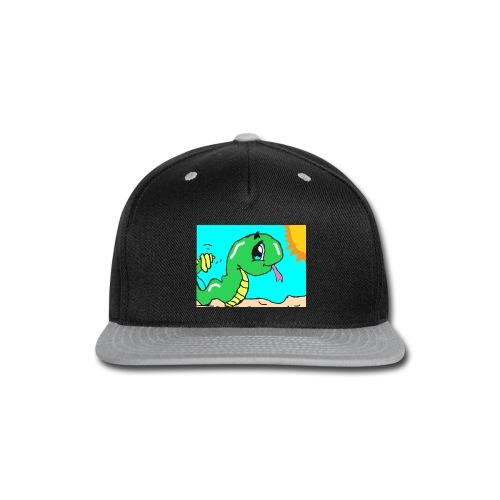 autodraw 9 18 2019 6 - Snap-back Baseball Cap