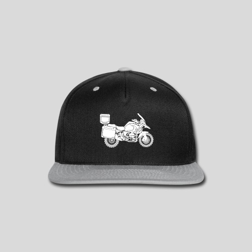 ADVENTURE MOTO - Snap-back Baseball Cap