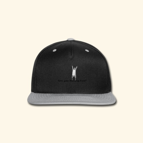 Are you having Fun? - Snap-back Baseball Cap