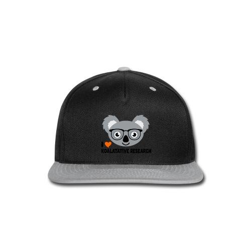 Koalatative Research - Snap-back Baseball Cap
