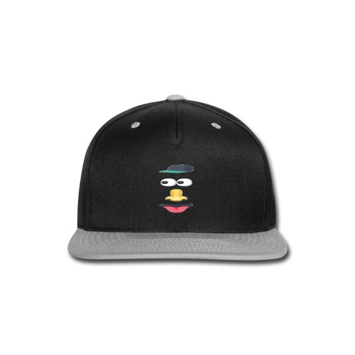 eyes nose - Snap-back Baseball Cap