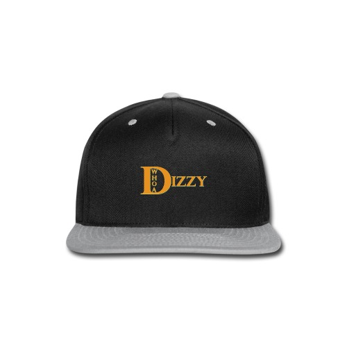 Whoa Dizzy Halloween Colors - Snap-back Baseball Cap