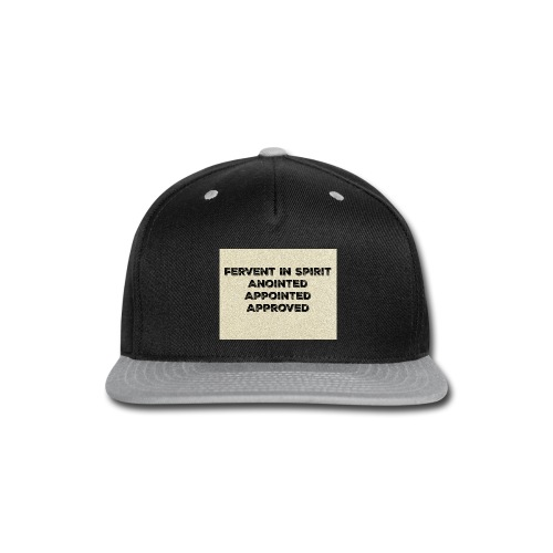 Fervent In Spirit - Snap-back Baseball Cap