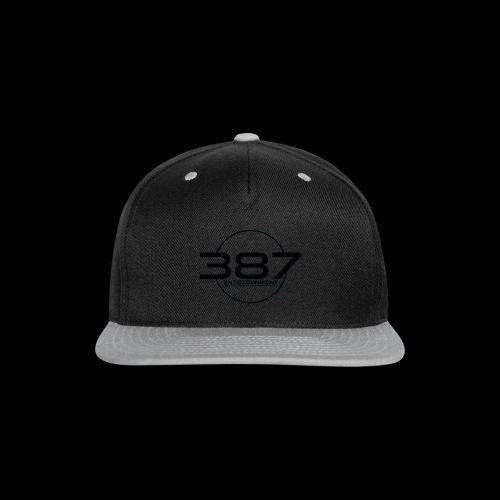 387 Entertainment Black - Snap-back Baseball Cap