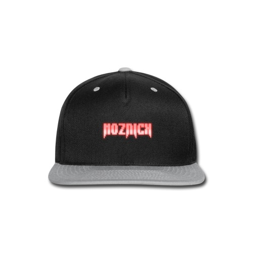 TEXT MOZNICK - Snap-back Baseball Cap