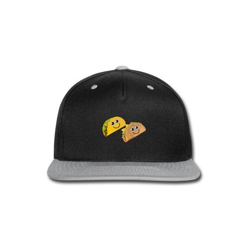 Taco Button - Snap-back Baseball Cap