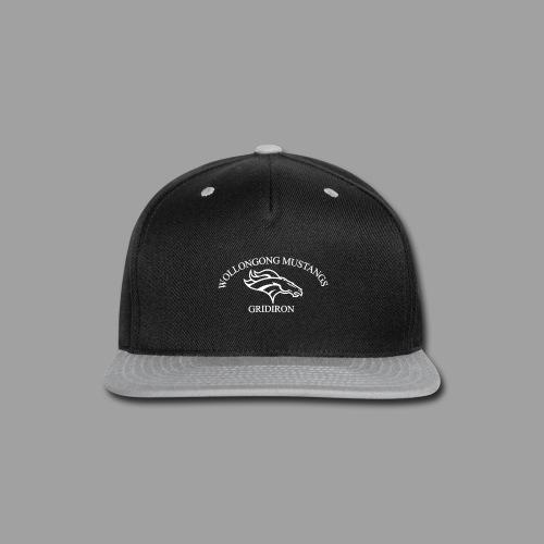 OG Mustang White - Snap-back Baseball Cap