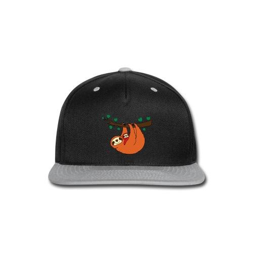 Sloth Love - Snap-back Baseball Cap