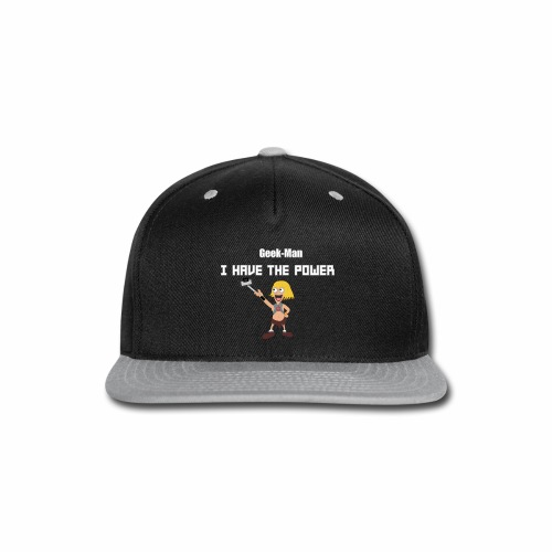 Geek-Man - Snap-back Baseball Cap