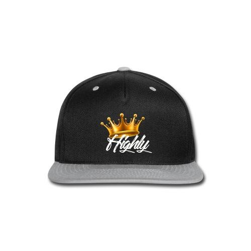 Highly Crown Print - Snap-back Baseball Cap