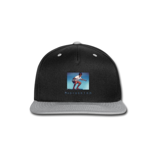 Depression album merchandise - Snap-back Baseball Cap