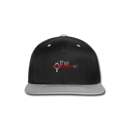 The Commentist Logo - Snap-back Baseball Cap