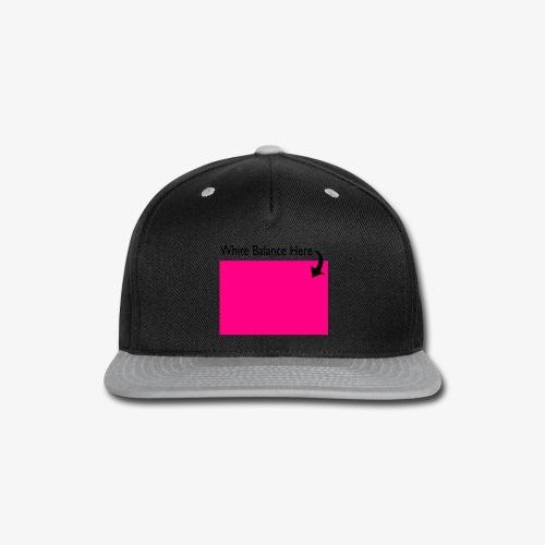 White Balance - Snap-back Baseball Cap