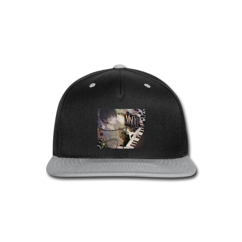 Dark Piano 1 - Snap-back Baseball Cap