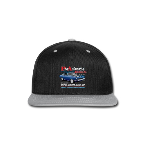 ProAutoTeeDesign062317fin - Snap-back Baseball Cap