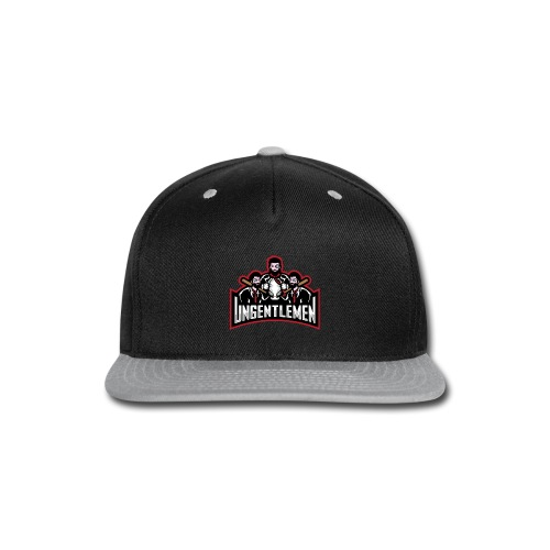 Ungentlemen Text Logo - Snap-back Baseball Cap