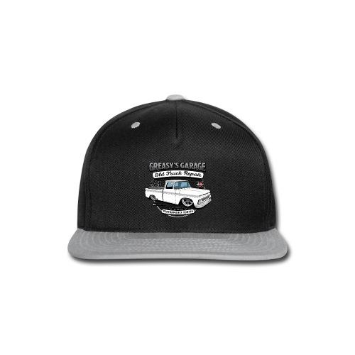 Greasy's Garage Old Truck Repair - Snap-back Baseball Cap