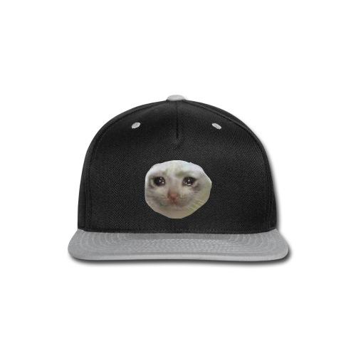 DANKIUS crying cat v2 snap back - Snap-back Baseball Cap