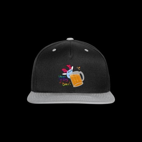Catbug - Where's my big ol' beer - Snap-back Baseball Cap