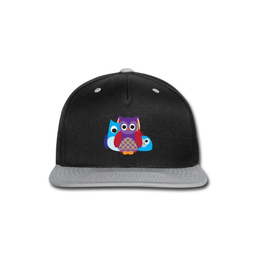Cute Owls Eyes - Snap-back Baseball Cap