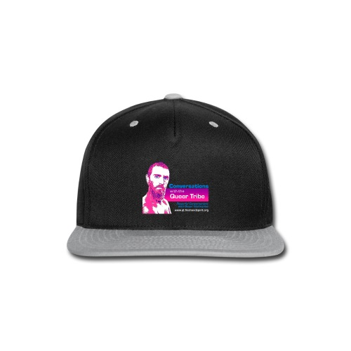 Conversations with the Queer Tribe - Snap-back Baseball Cap