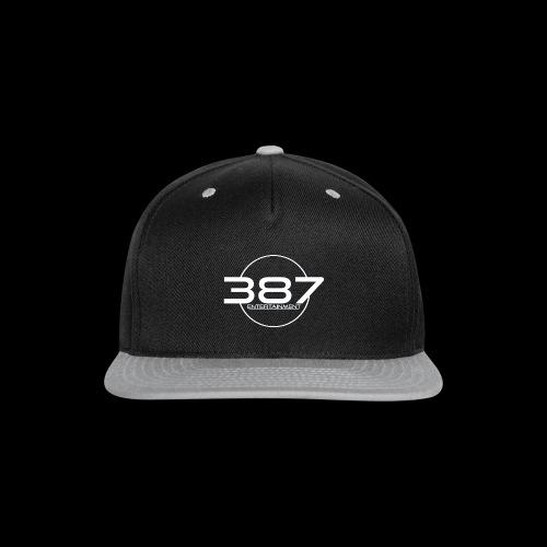 387 Entertainment White - Snap-back Baseball Cap