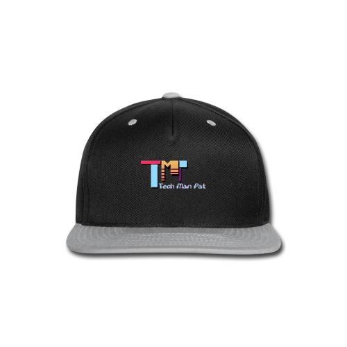 TechManPat Logo Large - Snap-back Baseball Cap