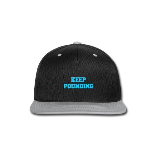 Keep Pounding Panthers UK - Snap-back Baseball Cap