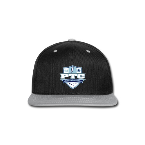 LCCA LOGO grey - Snap-back Baseball Cap