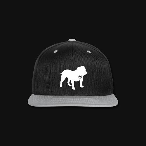 Bulldog love - Snap-back Baseball Cap