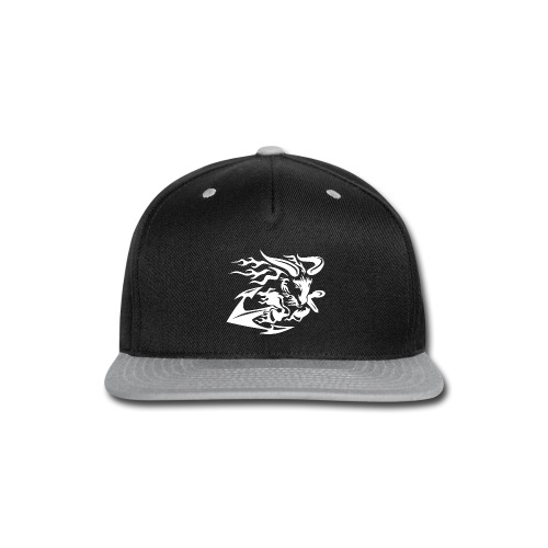 Goat with Anchor - Snap-back Baseball Cap